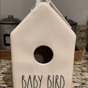 New Rae Dunn 2 Sided Baby Bird Birdhouse
